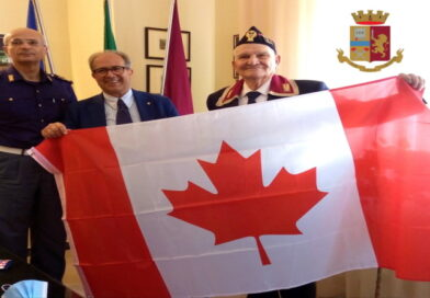 Il presidente della sezione ANPS di Toronto (Canada) a Matera