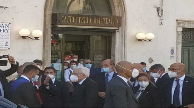 Centenario morte Di Vagno, Mattarella a Conversano