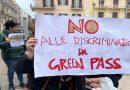 Green pass: flop protesta a Bari, 'siamo cittadini a tempo'