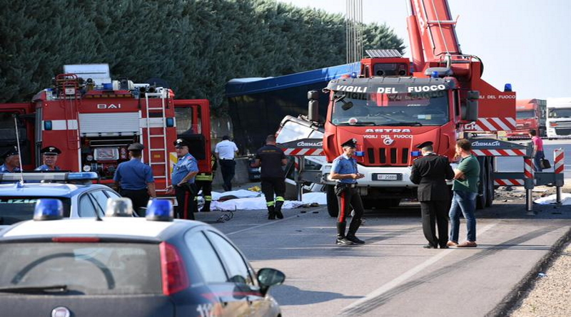 'Sfruttò 12 braccianti morti in incidente', un arresto